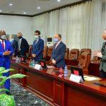 RDC: Félix Tshisekedi a conféré avec les ambassadeurs et chefs des missions diplomatiques en poste au pays